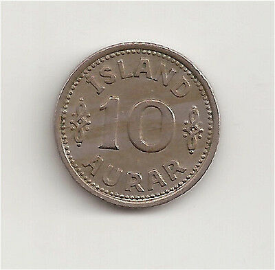 World Coins - Iceland 10 Aurar 1940 Coin KM # 1