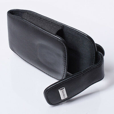 NEW OEM BLACKBERRY LEATHER POUCH SWIVEL HOLSTER BELT CLIP CASE FOR BLACKBERRY