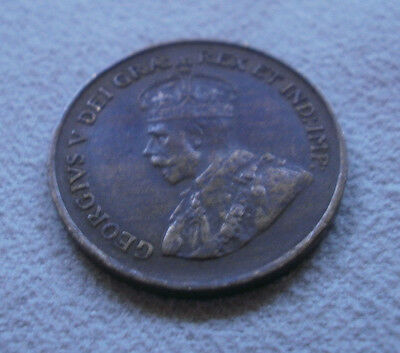 1934 Canada Canadian small cents one cent coin penny