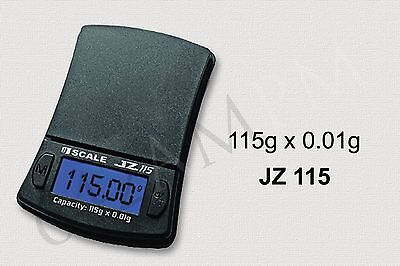 Digital Pocket Scale JZ115 (115 Grams x 0.01 Weight Capacity)