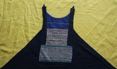 Old Chinese Minority people's local cloth hand embroidery Bellyband