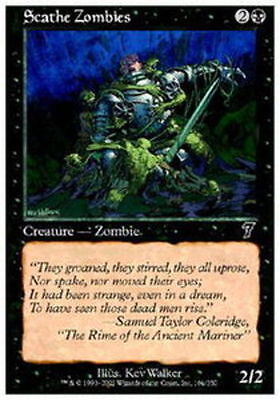 MTG *CCGHouse* Magic 10th Edition NM Scathe Zombies X4