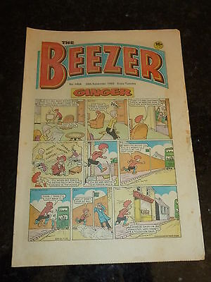 THE BEEZER Comic - Issue 1464 - Date 26/11/1983 - UK Paper Comic