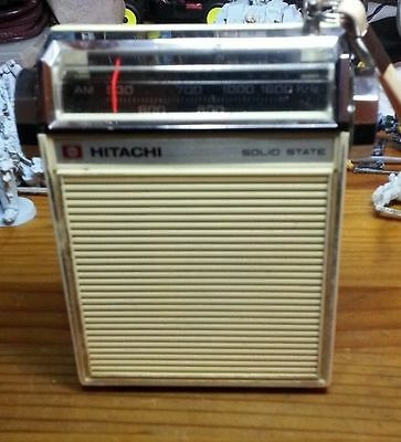 HITACHI TH-831 Vintage AM Radio Tested working 1968?