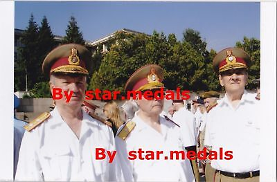 Rare Romania military photo group with more Romanian officers Generals # 1