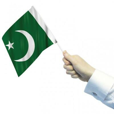 Pakistan Waving Flags x 12 (22cm x 15cm)