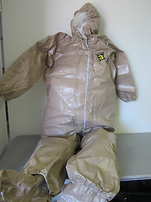 KAPPLER System CPF 3 Hazmat Protective Suit / Coverall, Size XL