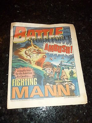 BATTLE with STORM FORCE Comic - Date 28/02/1987 - UK Paper Comic