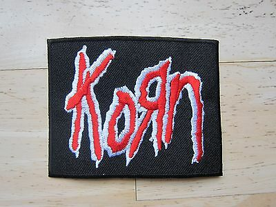 Korn embroidered Iron on Patch High Quality Shirt Bag Cap Towel
