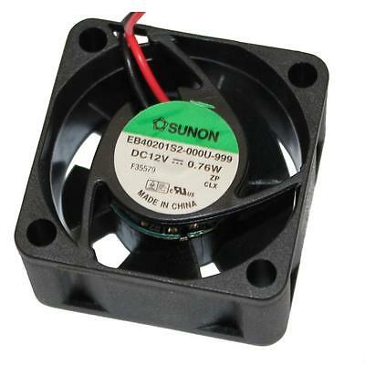 Fan / Ventilatore 12V 0,76W 40x40x20mm 13m³/h 21dBA ; Sunon EB40201S2-999