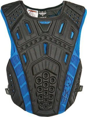 Fly Racing Undercover II Clip Entry Roost Guard Chest Protector Black One Size
