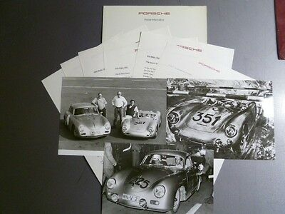 1994 Porsche Mille Miglia 40th Anniversary Factory issued Press Kit RARE Awesome