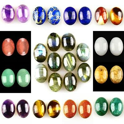 18x13mm Oval flatback Cabochon CAB Ring Face Jasper Gemstone Accessory Wholesale