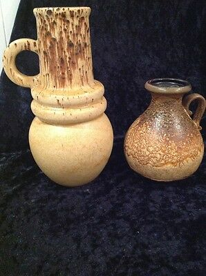 2 X Vases Made In West Germany