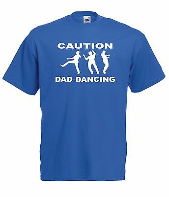 DAD DANCING funny fathers present New Mens Womens T SHIRT TOP 8-16 s m l xl xxl