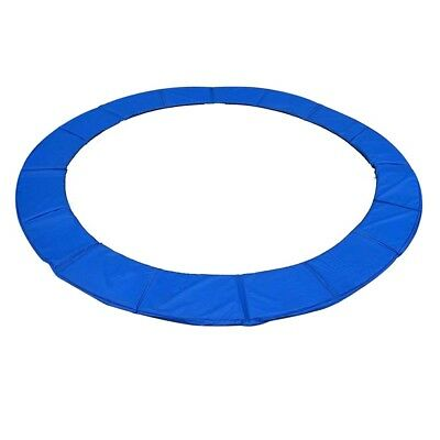 15ft Round Trampoline Replacement Protection Frame Safety Cover Pad Blue Gym