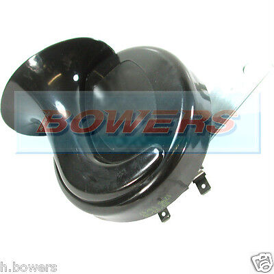 12V Volt Universal Low Tone Twin Terminal Shell/Trumpet Horn Motorcycle/Bike/Car