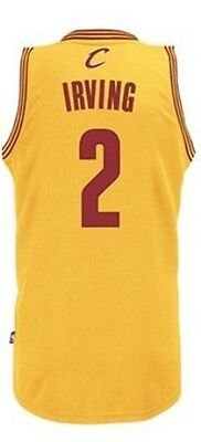Canotta/jersey Collezione-Basket Nba-Cleveland Cavs-Irving-Gialla-Xxs/xs/s/m/l