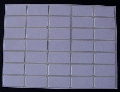 "250 All Purpose Removable Adhesive Price Labels Tags Stickers Square ½""x1"""