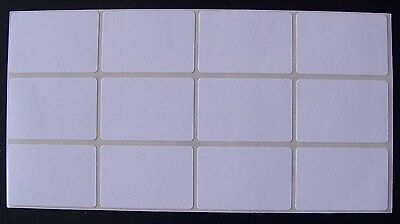 "100 All Purpose Removable Adhesive Price Labels Tags Stickers Square 1""x 1½"""