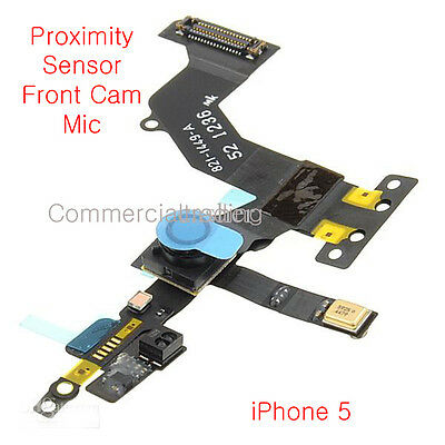 GENUINE Replacement Proximity Sensor For iPhone 5 Front Camera MIC Flex Cable UK