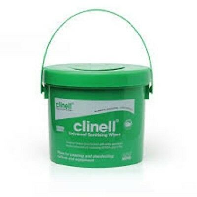Clinell Universal Sanitising Wipes 225 Wipes Bucket Ideal for gym fit boxing