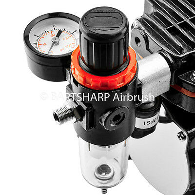 AFR-2000 Pneumatic Air Filter Regulator Moisture Trap Pressure Gauge Compressors