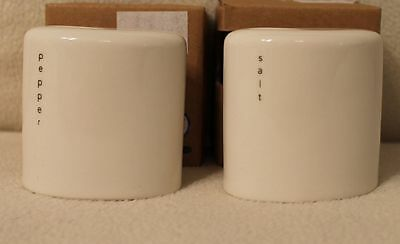 Wade Ovation Comtemporary Kitchenware Salt & Pepper Shakers New in Box