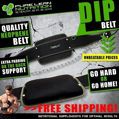 Dip Weight Lifting Gym Belt Pull Up Chin Up Dipping Bodybuilding Workout