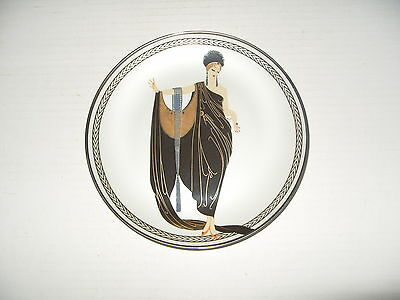HOUSE OF ERTE COLLECTORS PLATE GLAMOUR