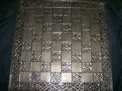 Extra Lge Handcrafted Chess Board 60cm x 60cm