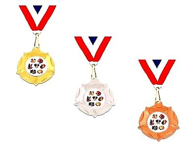 Dog training Show medal trophy award free engraving gold silver bronze 40mm
