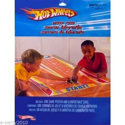 HOT WHEELS Fast Action MAZE RACE ~ Birthday Party Supplies Room Decorations Game