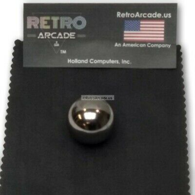 Chrome Steel Mirror Finish arcade pinball 1-1/16 Inch diameter, pinball machine
