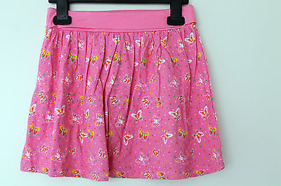 NEW Girls Butterfly Print Jersey Skirt Age 2-3, 3-4 Years *FREE P&P*
