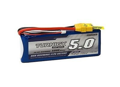 Turnigy 5000mAh 2S 7.4V  Lipo Battery 2 cell for Rc Car Plane Helicopter