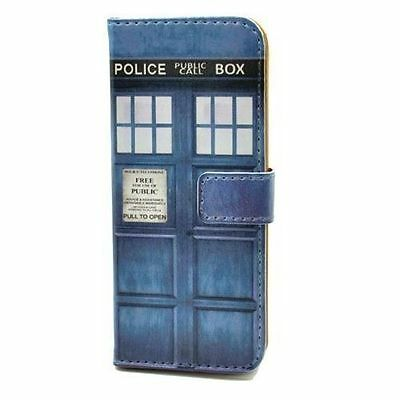Doctor Who Tardis Leather Wallet Card Case Stand For ipod Touch 4 4th 5 5th Gen