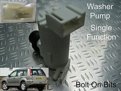 Front Windscreen Washer Pump Fits Nissan Xtrail Mk1 2001 through to 2007