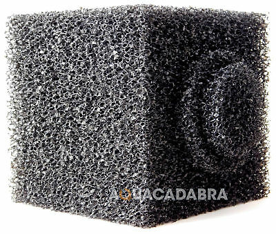 "Pond Filter 6"" Cube Foam Pre-Filter Sponge Block 6 Inch Garden Fish 6"" Square"