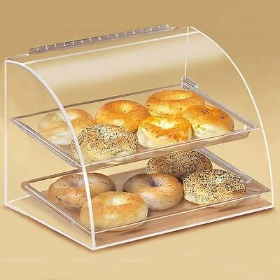 Cal-Mil - 289 - Euro 2-Tier Display Case Bakery, Pastry, Donut, Muffin