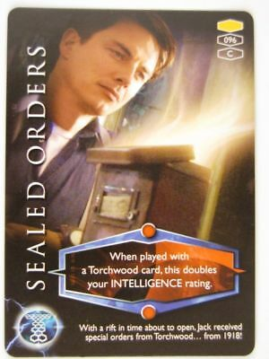 Torchwood Cards: SEALED ORDERS 096 Common