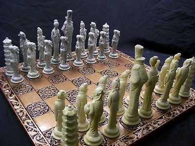 The Mikado Chess Set- marble effect