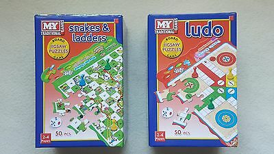 KIDS,MY, JIGSAW PUZZLE / BOARD GAMES, 2 designs,Stocking Filler,Boys,Girls,Gift.
