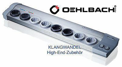 OEHLBACH Power Socket 907 / High-End-Steckdosenleiste / 17030 / Netzleiste / Neu