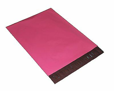 100-12x15.5 PINK POLY MAILERS ENVELOPES BAGS 12 x 15.5-2.5MIL The Boxery
