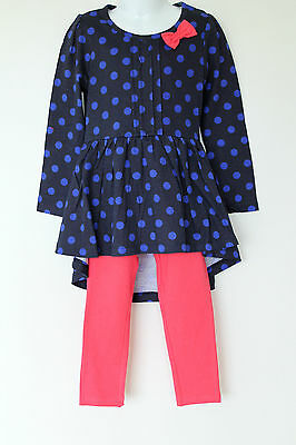 NEW Girls Gorgeous Dress & Leggings Set Age 3, 5 Years *FREE P&P*