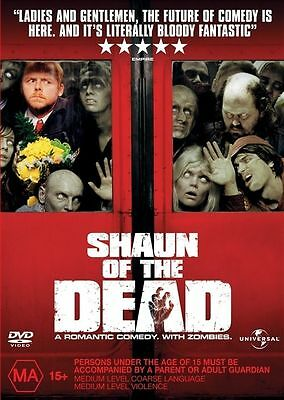 SHAUN OF THE DEAD (DVD, 2005)new sealed