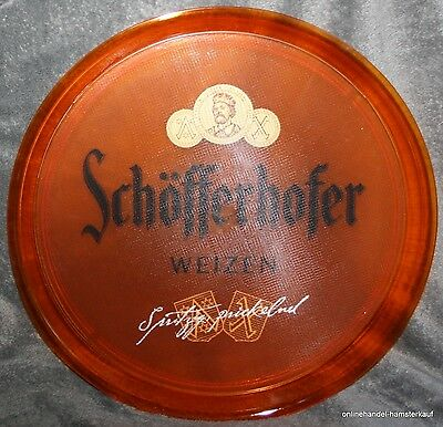 Schöfferhofer Bier Servier Tablett Bar Partykeller Gastro rar Beer transparent