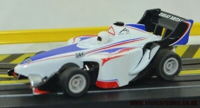 Hard to find Micro Scalextric F1 A1 car Serviced Great Britain Livery