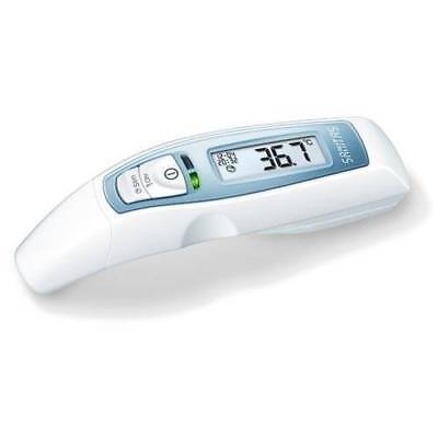 6in1 Digitales Fieberthermometer Thermometer Stirn Ohr Baby Ohrthermometer NEU
